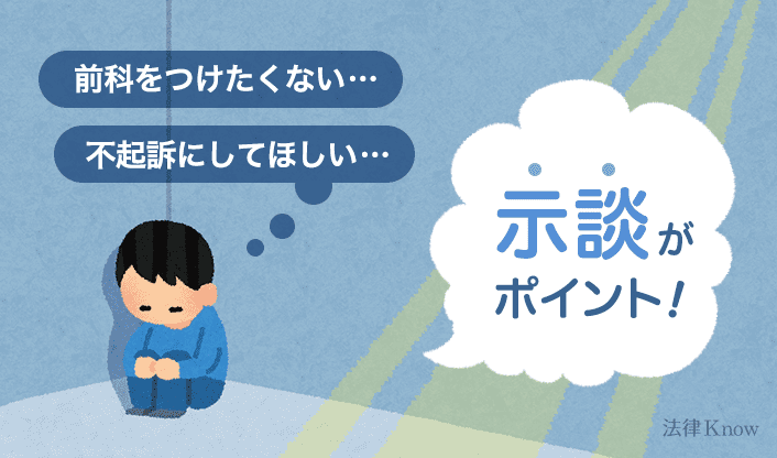 示談がポイント